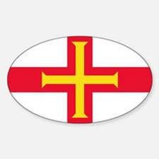 Guernsey Flag Stickers