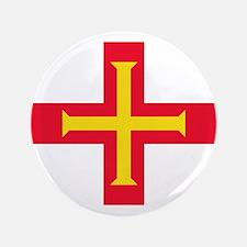 "Guernsey Flag 3.5"" Button (100 pack)"