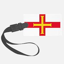 Guernsey Flag Luggage Tag