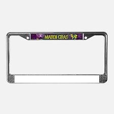 Mardi Gras Good Times Roll License Plate Frame
