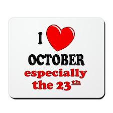 October 23rd Mousepad