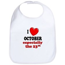 October 23rd Bib