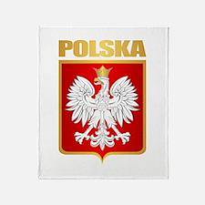 Poland COA Throw Blanket