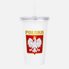 Poland COA Acrylic Double-wall Tumbler