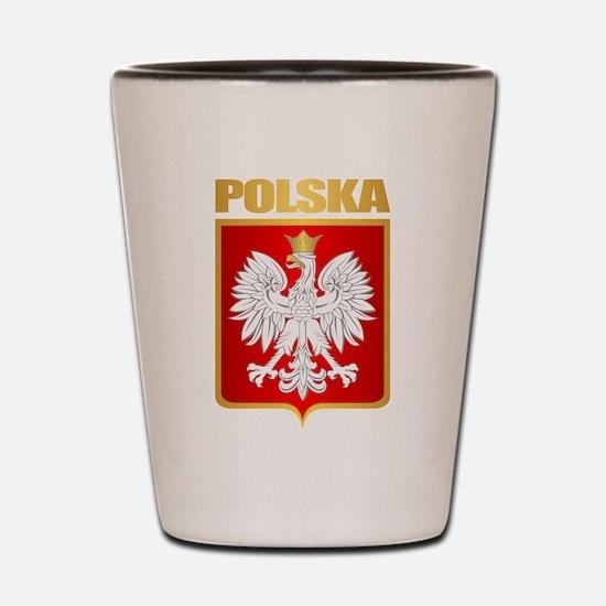 Poland COA Shot Glass
