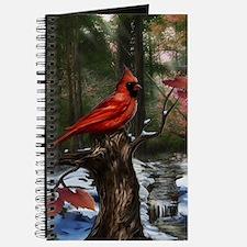 cardinal bird art Journal