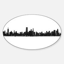 Chicago Skyline 1 Decal