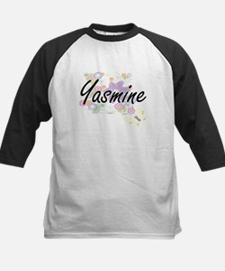 Yasmine Artistic Name Design with Baseball Jersey