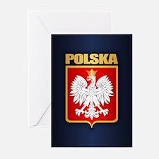 Poland COA Greeting Cards