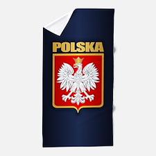 Poland COA Beach Towel
