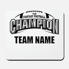 Custom Fantasy Football Champion Mousepad