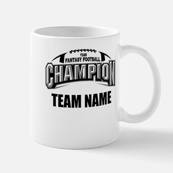 Custom Fantasy Football Champion Mug