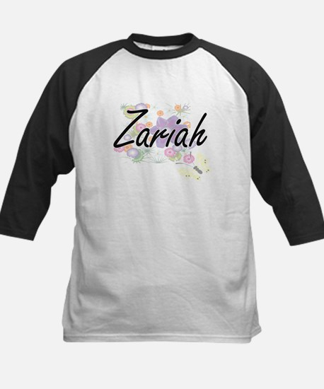 Zariah Artistic Name Design with F Baseball Jersey
