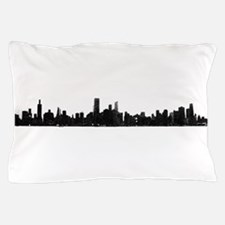 Chicago Skyline 1 Pillow Case