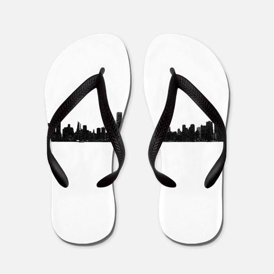 Chicago Skyline 1 Flip Flops
