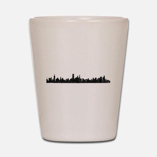 Chicago Skyline 1 Shot Glass
