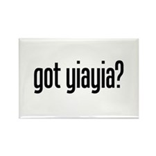 got yiayia? Rectangle Magnet