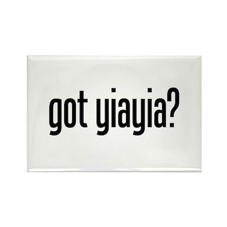 got yiayia? Rectangle Magnet
