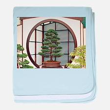 Bonsai tree baby blanket