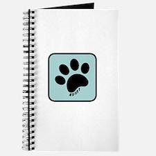 Cute Save a life adopt a pet adoption animal rescue Journal