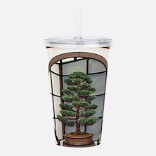 Bonsai tree Acrylic Double-wall Tumbler