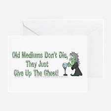 Mediums/Ghost! Greeting Card