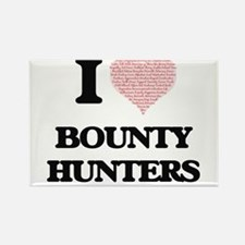 I love Bounty Hunters (Heart made from wor Magnets