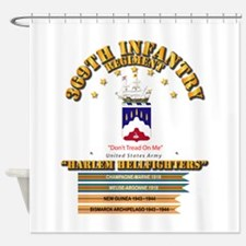 369th Infantry Regt Shower Curtain
