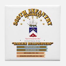 369th Infantry Regt Tile Coaster