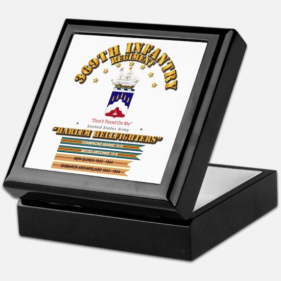 369th Infantry Regt Keepsake Box
