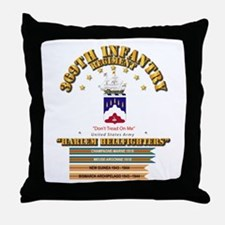 369th Infantry Regt Throw Pillow