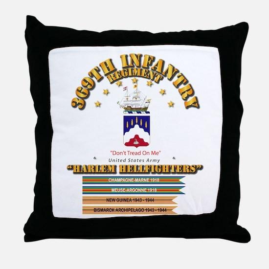 369th Infantry Regt Throw Pillow