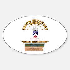 369th Infantry Regt Sticker (Oval)