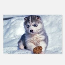 Husky Postcards (Package of 8)