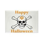 Masons Halloween Skull Rectangle Magnet (10 pack)