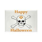 Masons Halloween Skull Rectangle Magnet (100 pack