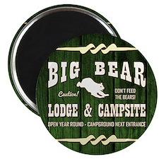 BIG BEAR LODGE Magnets