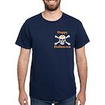 Masons Halloween Skull Dark T-Shirt
