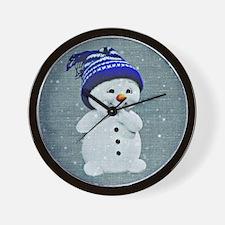 Unique Snowman Wall Clock