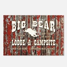 BIG BEAR LODGE Postcards (Package of 8)