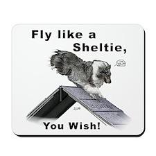 Shelties Fly- Agility Mousepad