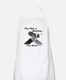 Shelties Fly- Agility BBQ Apron