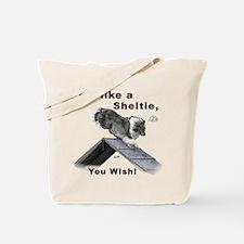 Shelties Fly- Agility Tote Bag
