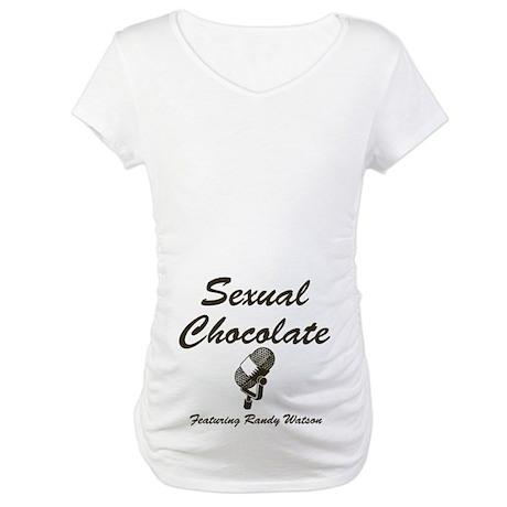 SEXUAL CHOCOLATE Maternity T-Shirt
