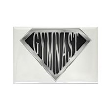 SuperGymnast(metal) Rectangle Magnet