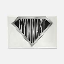 SuperGymnast(metal) Rectangle Magnet