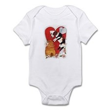 Jack Russell Terrier Bee-Dog Infant Bodysuit
