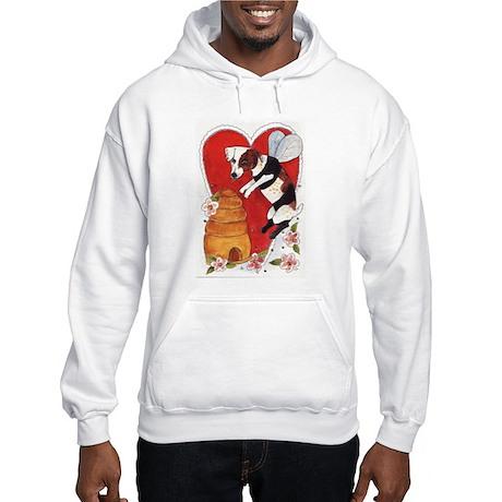 Jack Russell Terrier Bee-Dog Hooded Sweatshirt