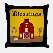 Folk Art Home Throw Pillow