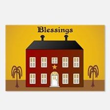 Folk Art Home Postcards (Package of 8)